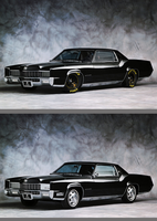 1967 Cadillac Eldorado by rubrduk Before And After by rubrduk