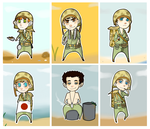 The Pacific: Doll Set 1 by uberrime