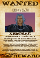Wanted: Xemnas by gttorres