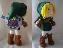 Link Plush by Eightohsixtythird
