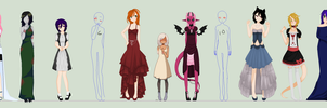 Big Dress Collab. -closed woops- by mondobutt