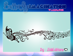 Wallpaper BUTTERFLY IMAGINATION by julii478