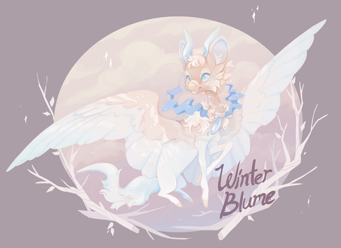 Winter Blume Auction: CLOSED by CitrusFoam