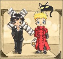 Trigun Chibis. by Lani-San