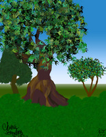 Photoshop Class Trees by SailorX