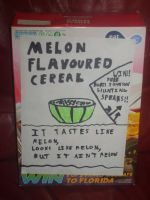 Melon Flavoured Cereal by QuintonCharles