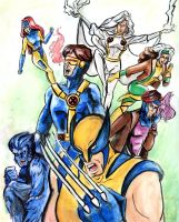 X-Men by lcannizzaro