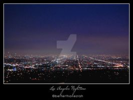 Los Angeles Nighttime by zerisse