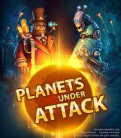 Cover art for Planets under attack by KypcaHT