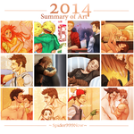 Summary Of Art 2014 by spider999now