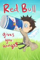 Red bull for fallen angels by Mousu