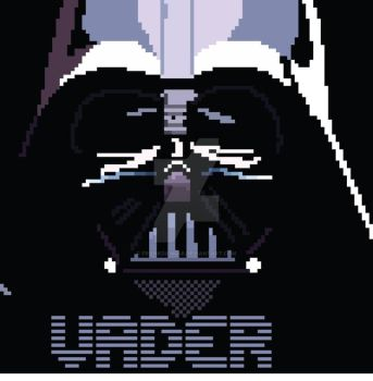 8 Bit Vader by frankdawg48
