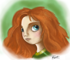 Merida by GeekyAnimator