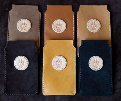 Leather Cell Phone Cases by CreepyRiver