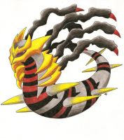 Giratina by CrazyPuffin