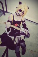 Kagamine Len - Imitation Black by Sora-Phantomhive