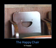 The Happy Chair by Sekrain