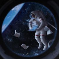 Drawing in space by Neskvik