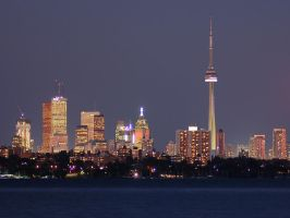 City At Dusk by jesse2010
