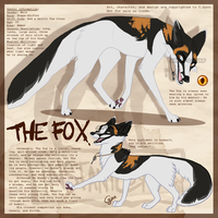 The Fox - Updated ref by InstantCoyote
