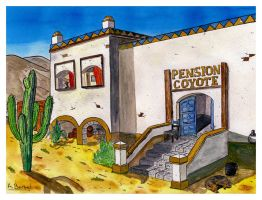 Pension Coyote.- by themaninthehatart