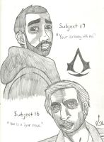Subject 16 and 17 by SlickComicFlo