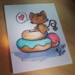 Happy Giant Donut Day by lafhaha