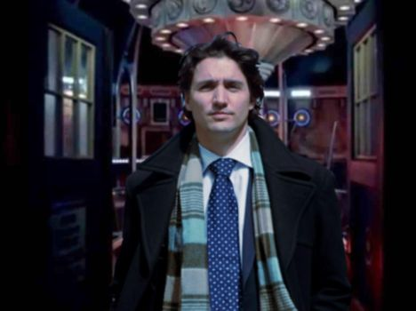 Justin Trudeau is The Doctor by hordoc2