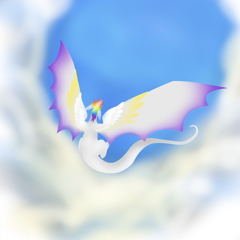 Flying (unfinished) by shadow21812