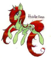 ThistleRose by FuneralDyingheart
