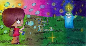 Best Friends-Mac and Bloo by X-Luminescence