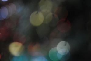 Colourful bokeh 15 by Muse-of-Stock