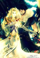 ||CM|| Princess Zelda x Dragon Age by xXxMantrumxXx