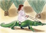 Let's ride an alligator by ArminiusWillabert