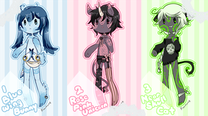Anthro Paypal/Points Adoptables [CLOSED] by Kuumone