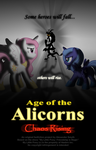 Age of the Alicorns: Chaos Rising poster REDUX by AleximusPrime