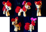 Apple Bloom - Custom Plush by Fire-Topaz