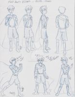 Veltin - Character Model sheet Part 1 by Yukiko-chan
