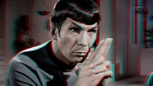 Spock 3-D conversion by MVRamsey