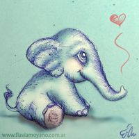 Little elephant by SeeTheMagic