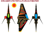 criasotato Totalitarian fighter by bagera3005