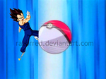 Vegeta Ball by RazorRed
