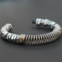 Indusrial Bracelet Hardware Jewelry by Tanith-Rohe