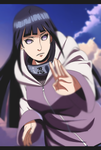 Hinata - Gentle Fist by passionatepremise