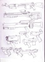 More Merc weapons 2 by GeorgieGanarf