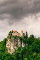 Bled Castle by spoochthedissident