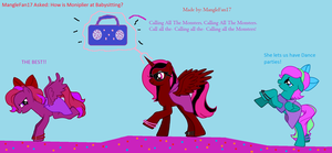 Answer From The Fillies #4 by MangleFan17