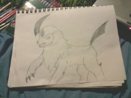 my first absol by momo-inari