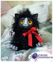 Mittens - Art Doll (SOLD) by Escaron
