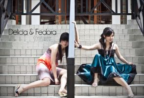 Delicia and Fedora Album by ChristopherFowler